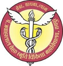 Pt. J N M Medical College logo
