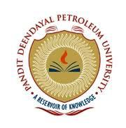 Pandit Deendayal Petroleum University logo