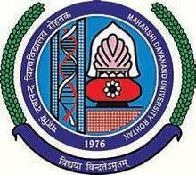 Maharshi Dayanand University logo