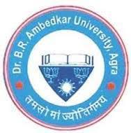 Dr Bhim Rao Ambedkar University logo