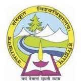 Uttarakhand Sanskrit University, Haridwar logo