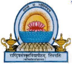 Rastriya Sanskrit Vidyapeeth, Tirupathi logo