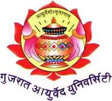 Gujarat Ayurved University logo
