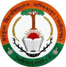 Sarguja University, Ambikapur logo