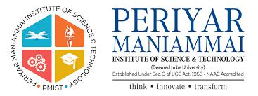 Periyar Maniammal Institute of Science & Technoloyg, Thanjavur logo