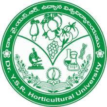 DrYSR Horticultural University, Tadepalligudem logo