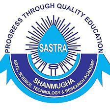 Shanmugha Arts, Science, Technology & Reserch Academy (SASTRA), Thanjavur logo