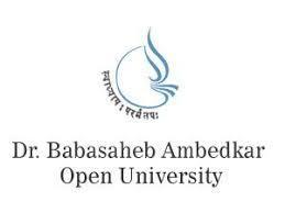 Dr Babasaheb Ambedkar Open University logo