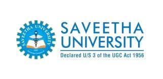 Saveetha University, Chennai logo