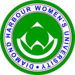 Diamond Harbour Womens University logo