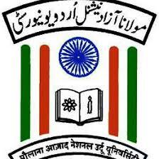 Maulana Azad National Urdu University, Hyderabad logo