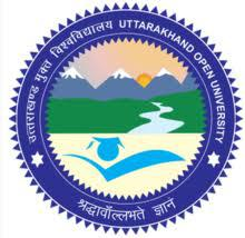 Uttarakhand Open University logo