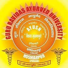 GURU RAVIDAS AYURVED UNIVERSITY logo