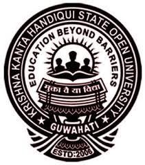 Krishna Kanta Hanidiqui State Open University, Guwahati logo