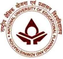 National University of Education, Planning & Administration, New Delhi logo