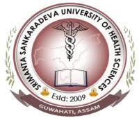 SRIMANTA SANKARADEVA UNIVERSITY OF HEALTH SCIENCES, GUWAHATI logo