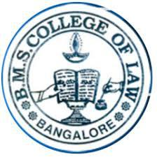 B.M.S. College of Law, Bangalore logo