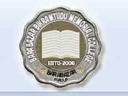 Barabazar Bikram Tudu Memorial College logo