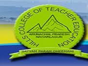 Hills College of Teacher's Education, Naharlagun logo
