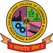 Prahladrai Dalmia Lions College of Commerce and Economics Sundar Nagar S V Road Malad West Mumbai 400 064 logo