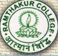 Ramthakur College logo