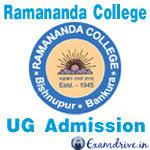 Ramananda College logo