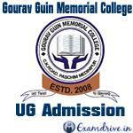 Gourav Guin Memorial Collegew logo