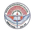 R.G. Baruah College logo