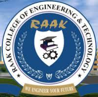RAAK COLLEGE OF ENGINEERING AND TECHNOLOGY logo