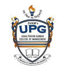 Shri Vile Parle Kelavani Mandals Usha Pravin Gandhi College of Management, Bhaktivedant Swami Marg, Juhu Scheme, Vile Parle West, Mumbai - 400056 logo