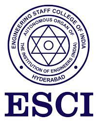 ENGINEERING STAFF COLLEGE OF INDIA logo