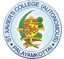 St Xaviers College(Autonomous ), Palayamkottai logo
