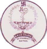 R.K.S.D. COLLEGE OF PHARMACY, KAITHAL logo