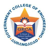 GOVERNMENT COLLEGE OF ENGINEERING, AURANGABAD (ACADEMIC AUTONOMOUS) logo