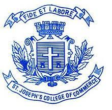 St.Josephs College of Commerce, # 5031, Museum Road, Banglore 25. (Autonomous) logo