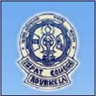 Ispat College,Rourkela logo
