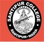 Santipur college, Santipur logo