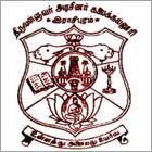 Thiruvalluvar Government Arts College logo