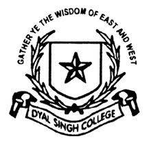 Dyal Singh College (Evening) logo