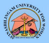 AVINASHILINGAM UNIVERSITY FOR WOMEN (DEEMED) logo