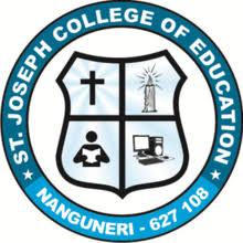 St.Joseph College of Education, Tirunelveli logo