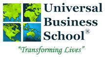 UNIVERSAL BUSINESS SCHOOL logo