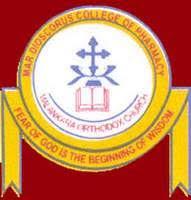 MAR DIOSCORUS COLLEGE OF PHARMACY logo