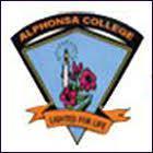 Alphonsa College, Pala logo