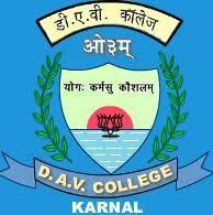 D.A.V. College, Karnal. logo
