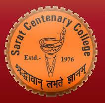 Sarat Centenary College logo
