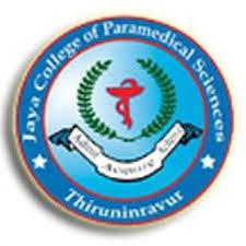JAYA COLLEGE OF PARAMEDICAL SCIENCES logo