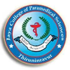 JAYA COLLEGE OF PARAMEDICAL SCIENCES logo