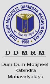DumDum Motijheel Rabindra Mahavidyalaya logo
