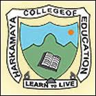 Harkamaya College of Education, 6th mile, Samdur logo